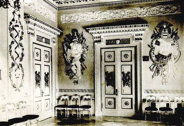 File:70 Gatchina-Door to the Chesma gallery of the emperors palace jpg.jpg