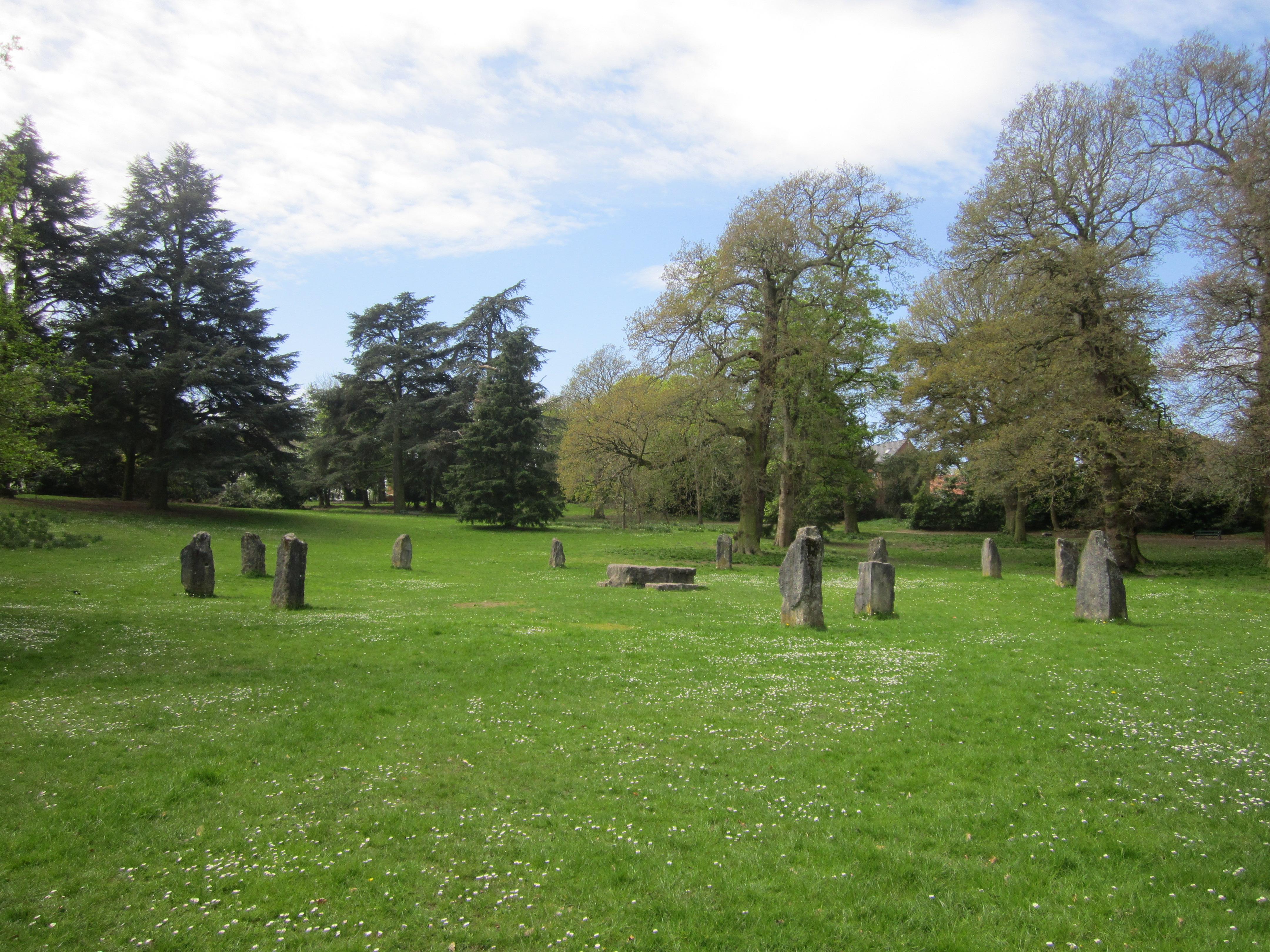 File Acton Park Gorsedd Stones 17 Jpg Wikimedia Commons
