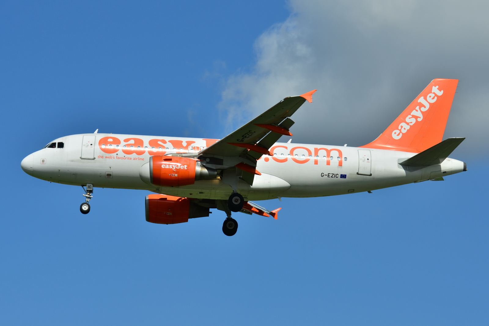 File:Airbus A319-100 easyJet (EZY) G-EZIC - MSN 2436