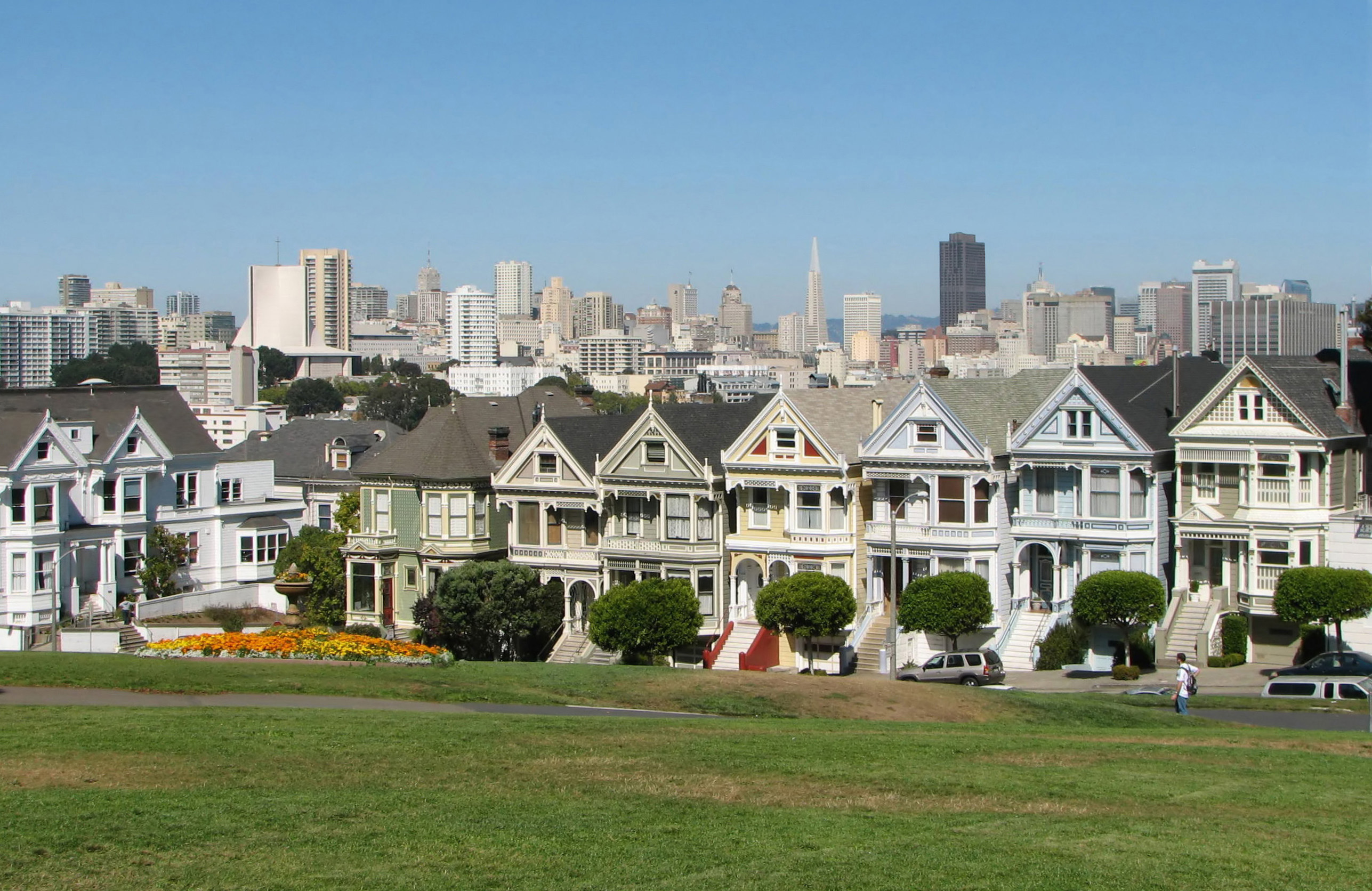 """Painted Ladies"" in Alamo Square"