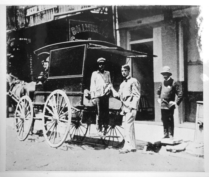Ambulance 1905 Yellow Fever New Orleans