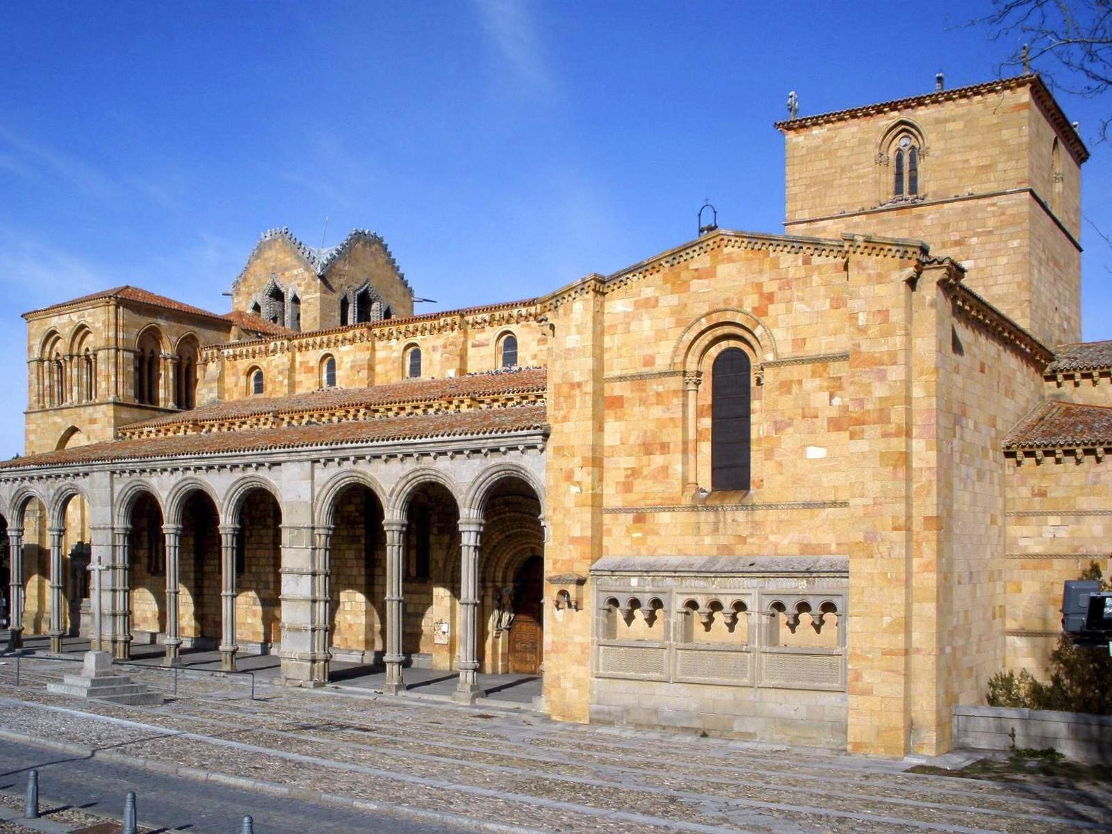 File Avila Basilica De San Vicente Exteriores 21 Jpg Wikimedia Commons