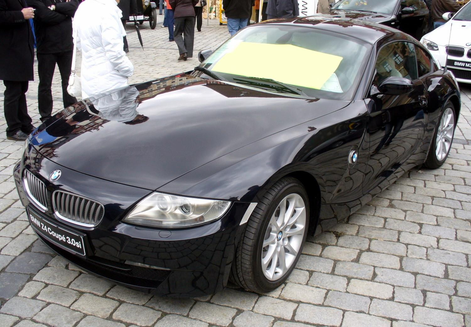 Filebmw Z4 Coupé 30sijpg Wikimedia Commons