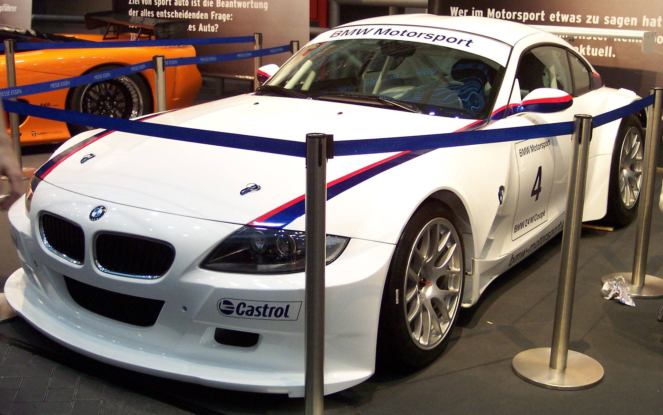 File Bmw Z4 M Coupe White Vl Ems Jpg Wikimedia Commons
