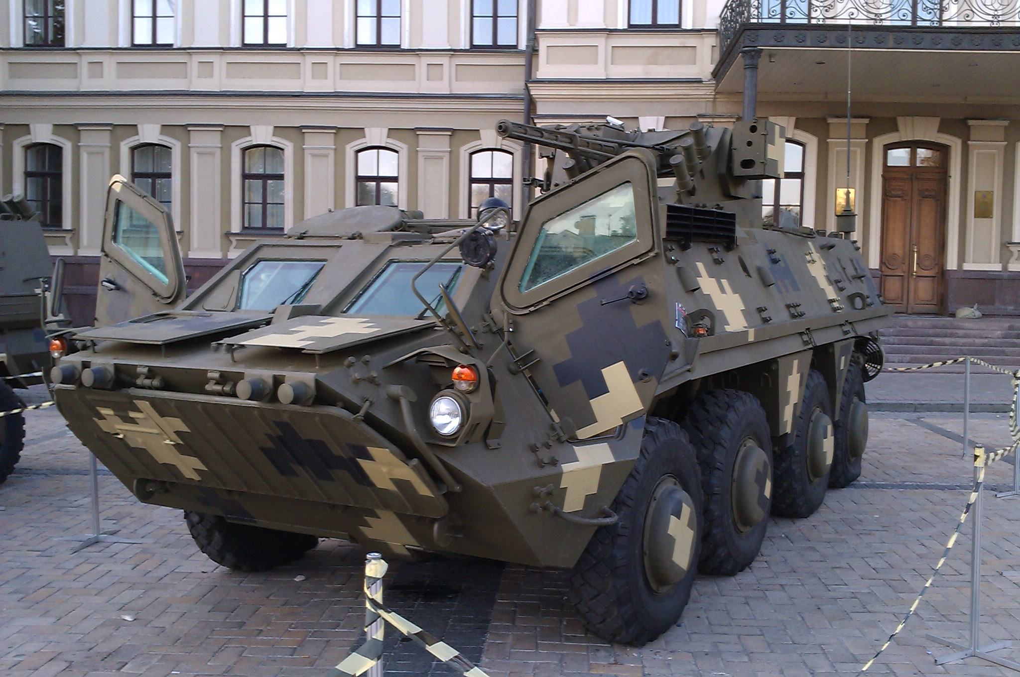 Depiction of BTR-4