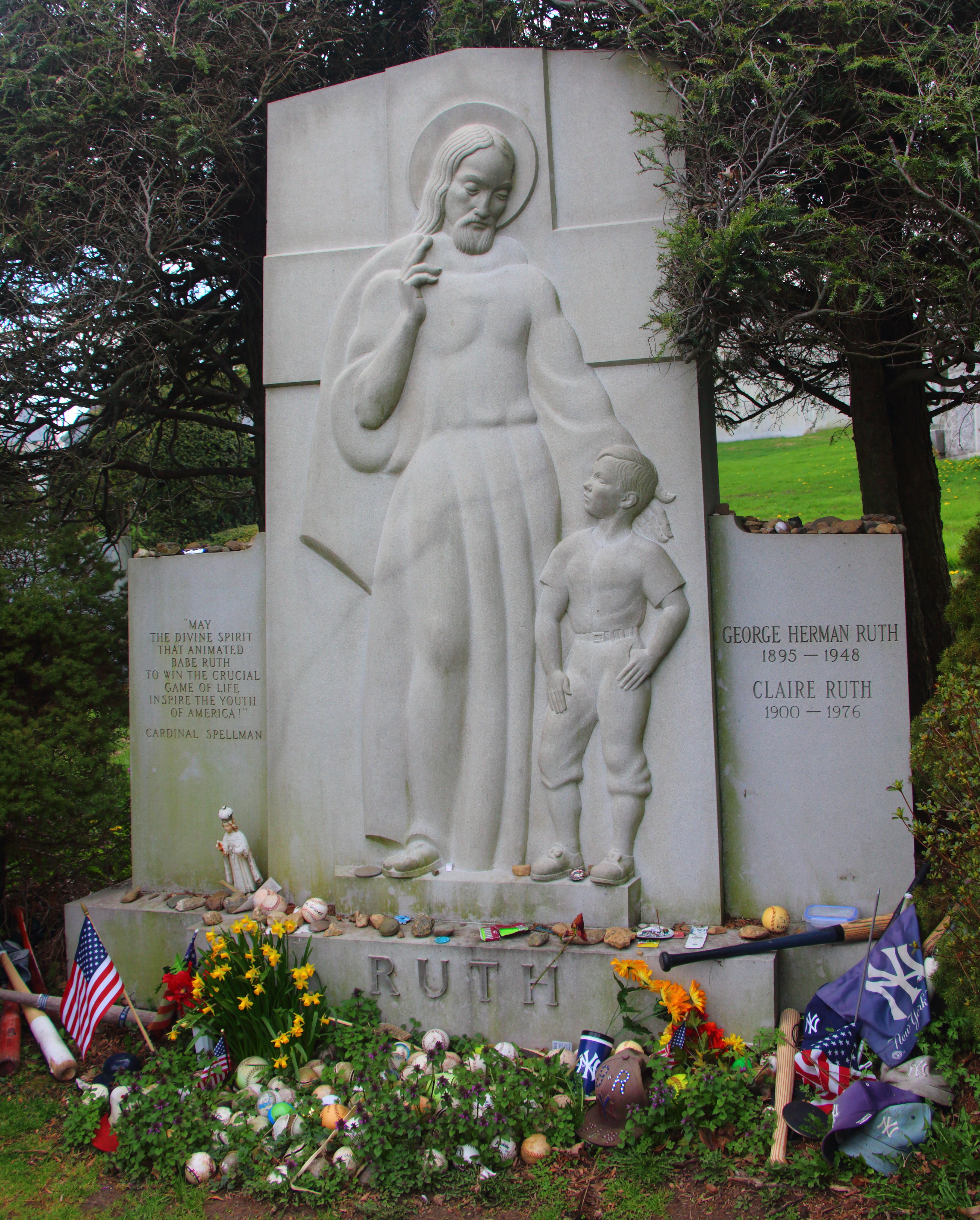Ruth Grave File:babe Ruth Grave.jpg