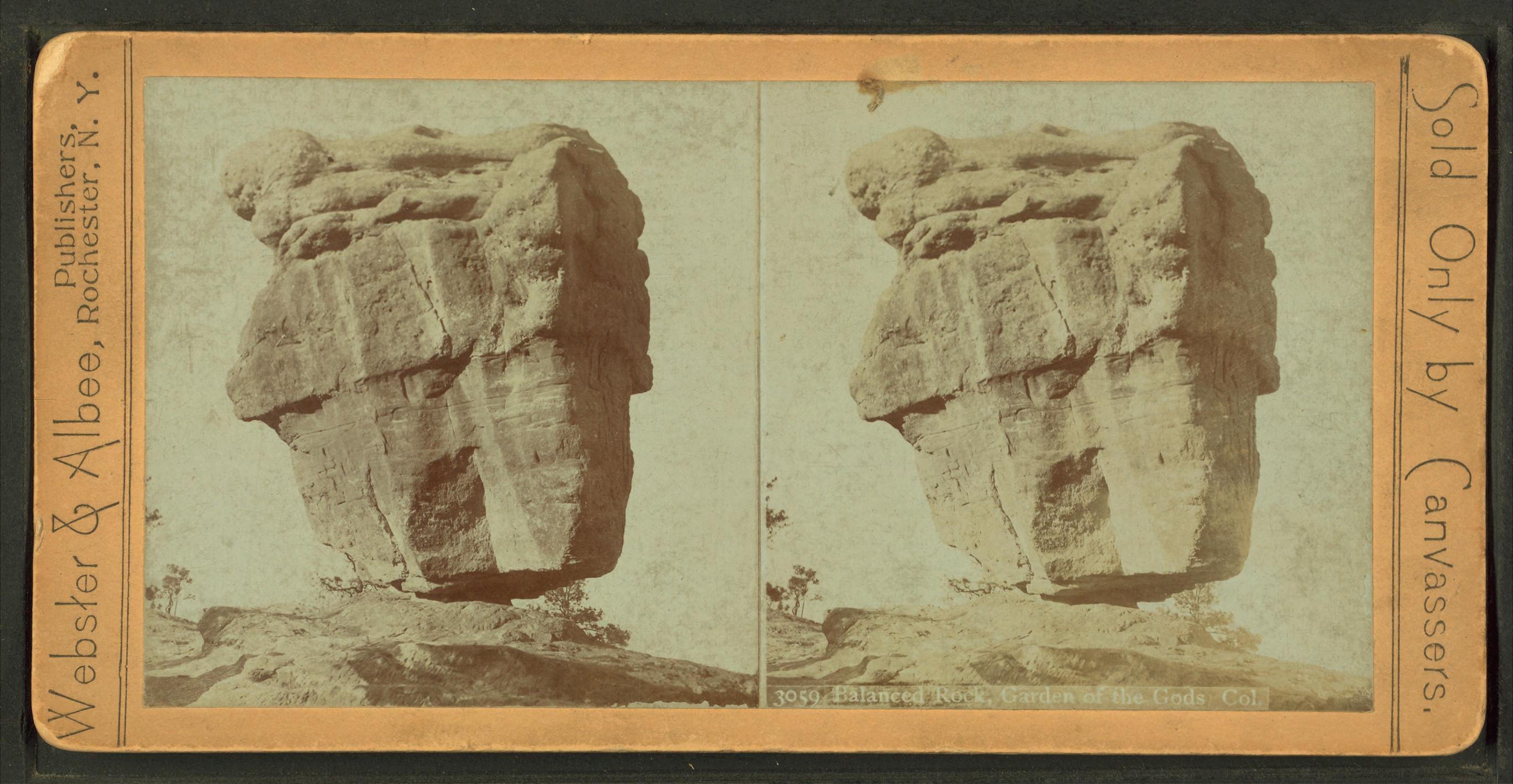 File Balanced Rock Garden Of The Gods Colorado From Robert N Dennis Collection Of