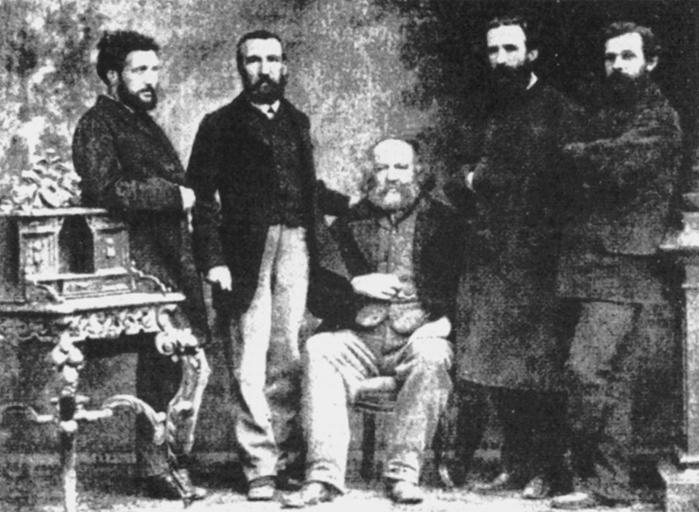 LA MASONERIA CREÓ EL ANARQUISMO! Basel_1869