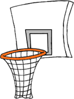 Image result for basketball hoop
