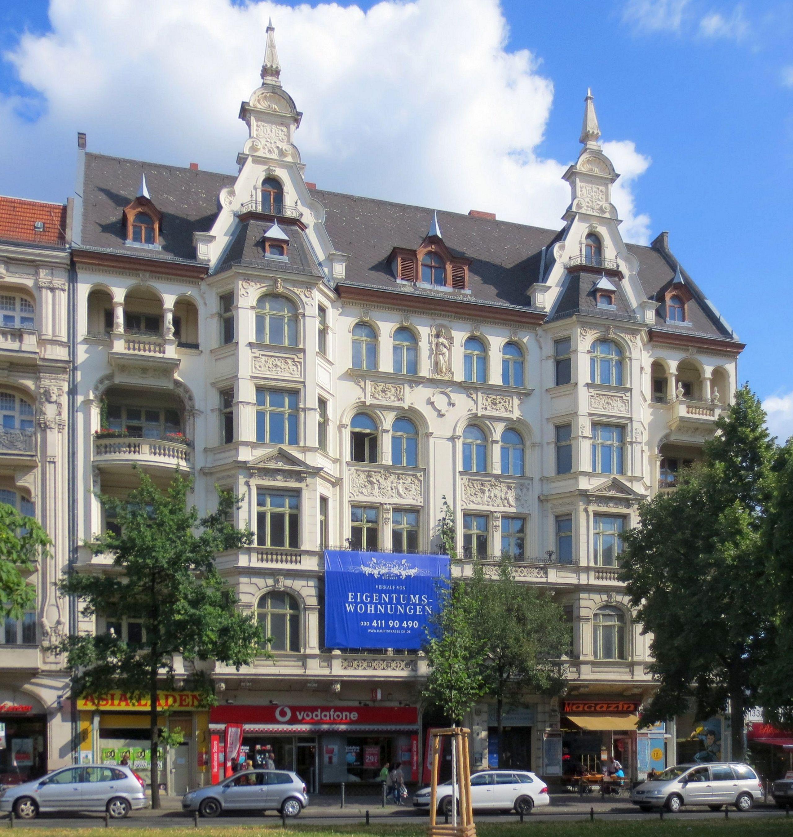 file berlin schoeneberg hauptstrasse 134 wikimedia commons. Black Bedroom Furniture Sets. Home Design Ideas
