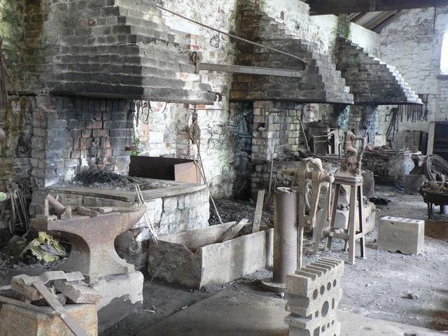 File Blacksmith S Shop Big Pit Blaenavon Geograph Org