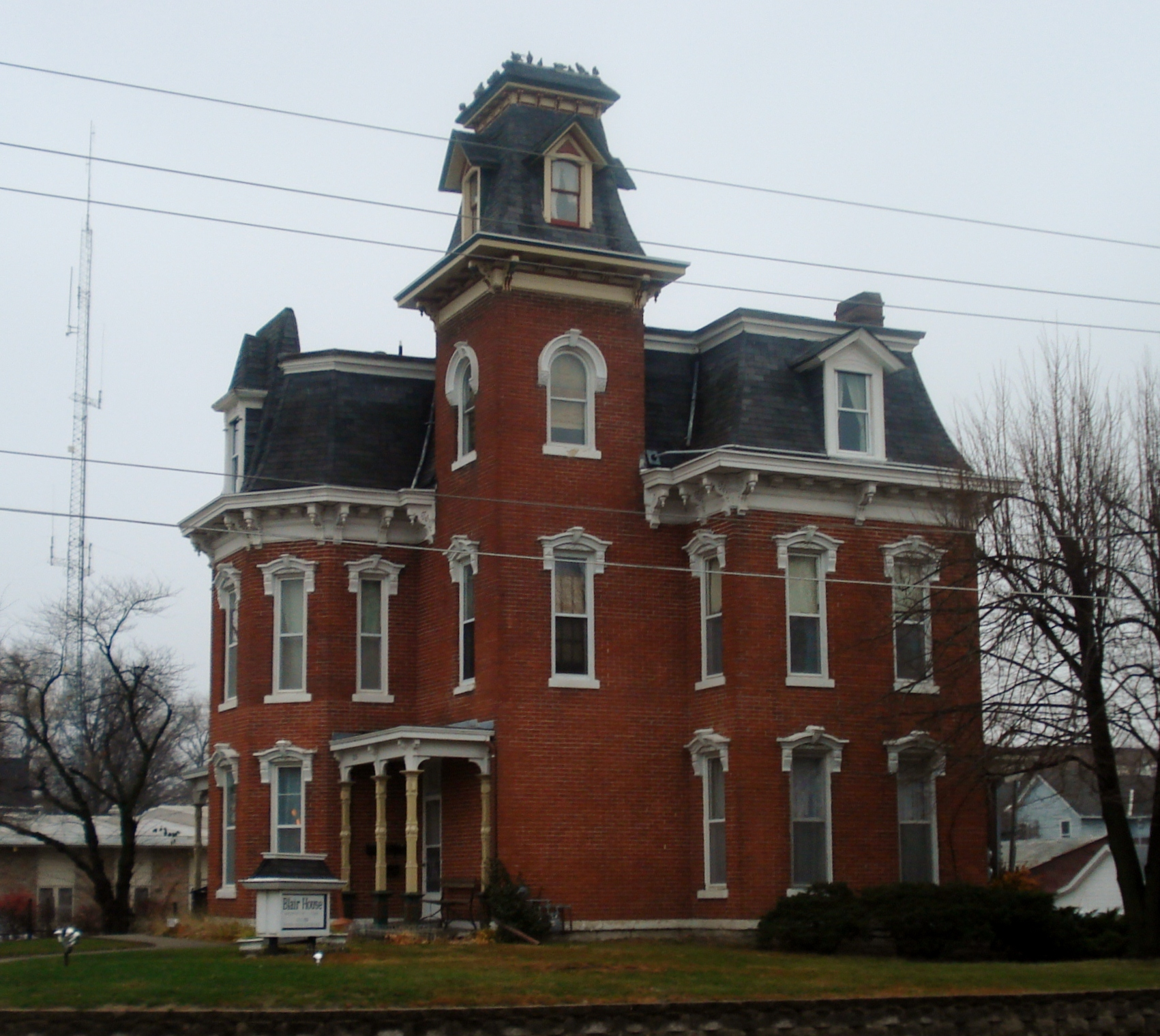 Blair House (Washington, Iowa) - Wikipedia