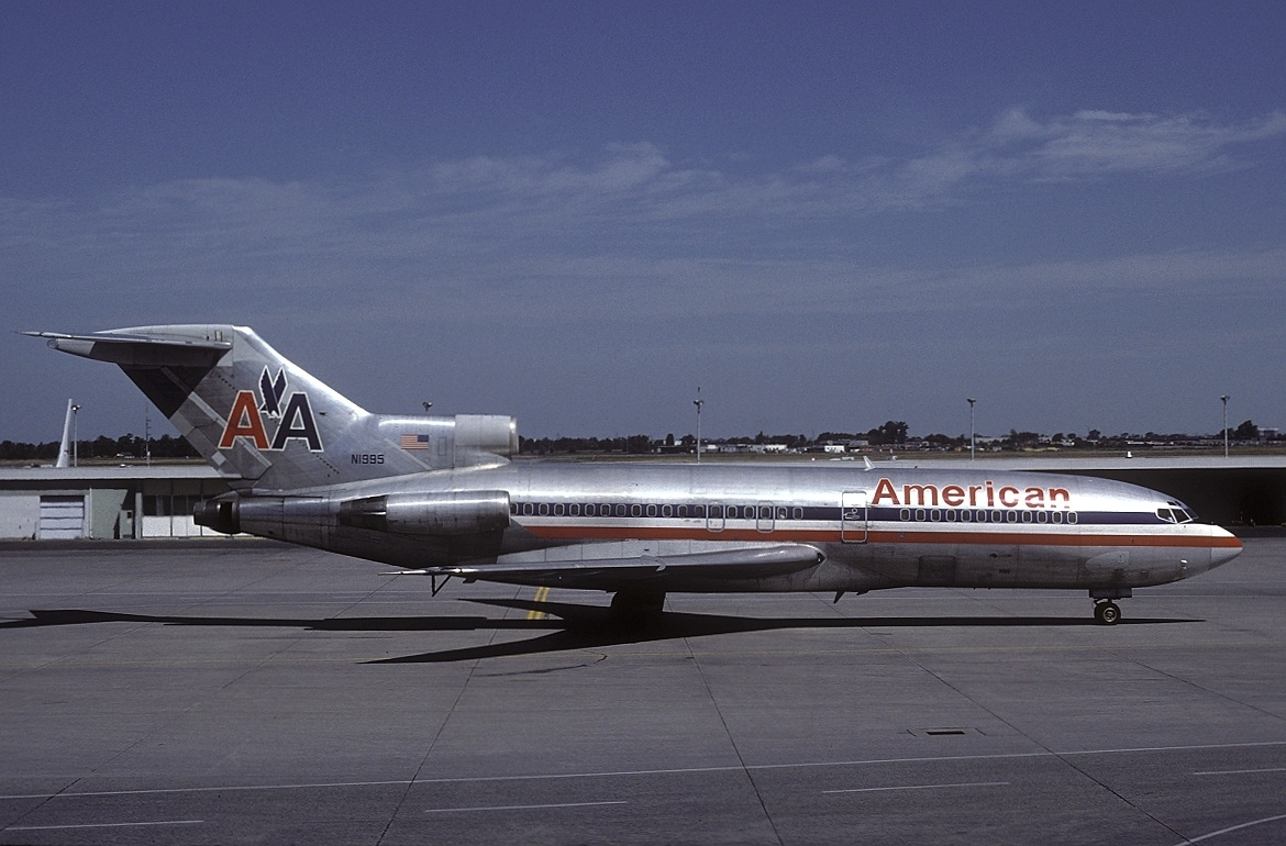 File boeing 727 23 american airlines for American airlines plane types