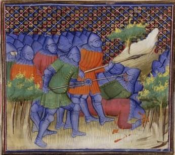 Depiction of the Battle of Brignais