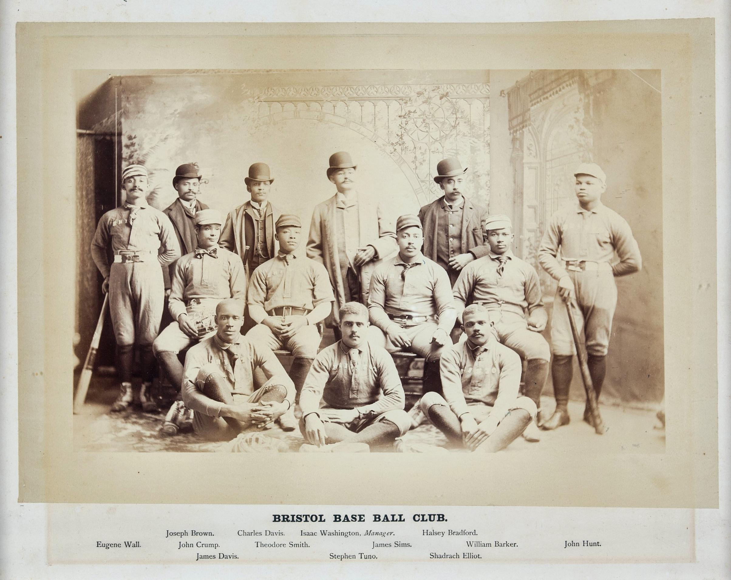 Bristol Base Ball Club, 1890