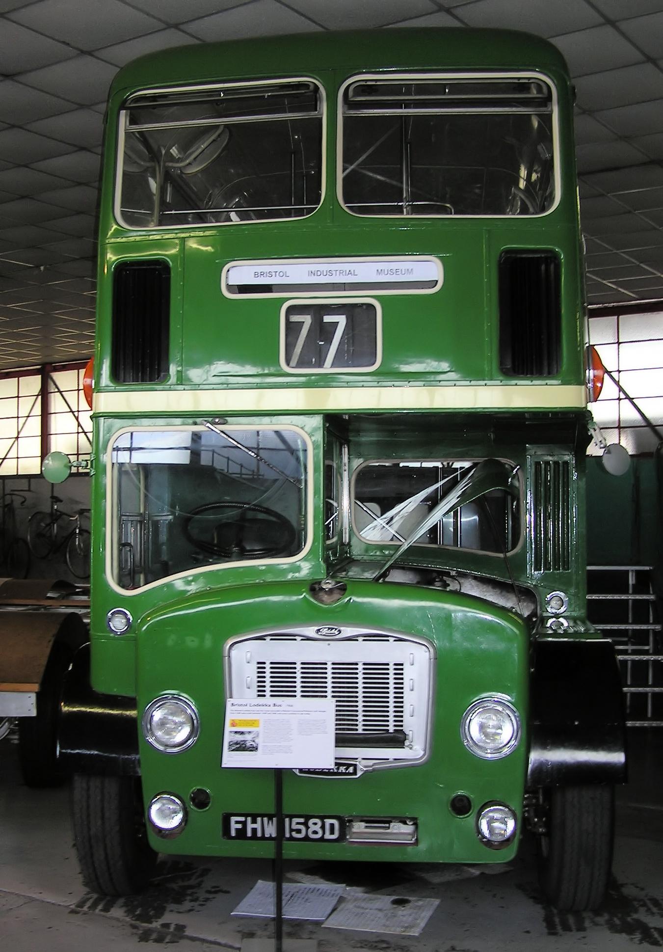 File Bristol Lodekka Bus Arp Jpg Wikimedia Commons