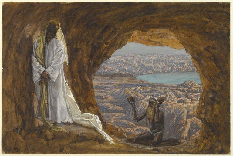 Brooklyn Museum - Jesus Tempted in the Wilderness (Jésus tenté dans le désert) - James Tissot - overall