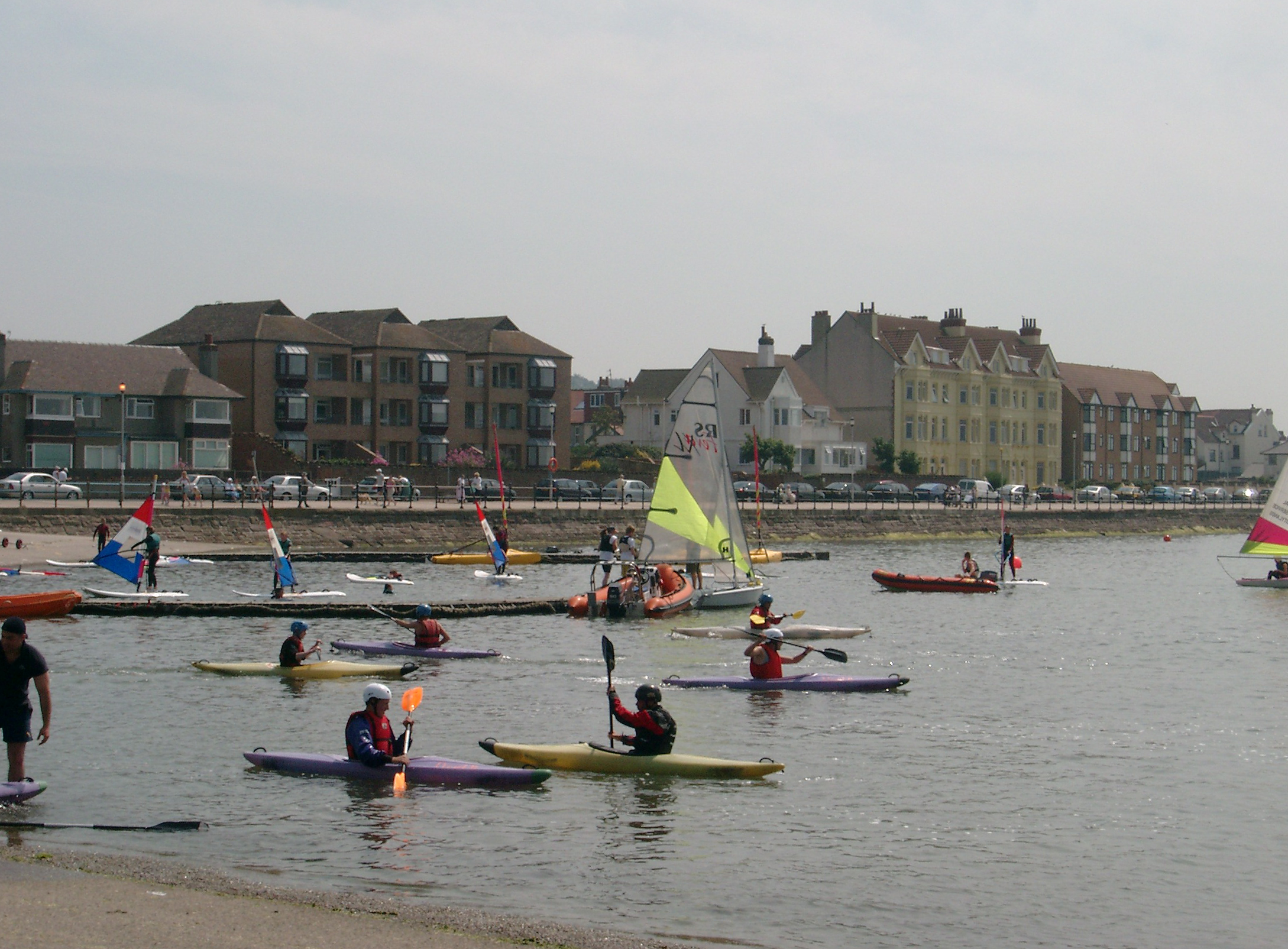 File:Canoeing on West Kirby Marine Lake - 2003-07-15.png ...