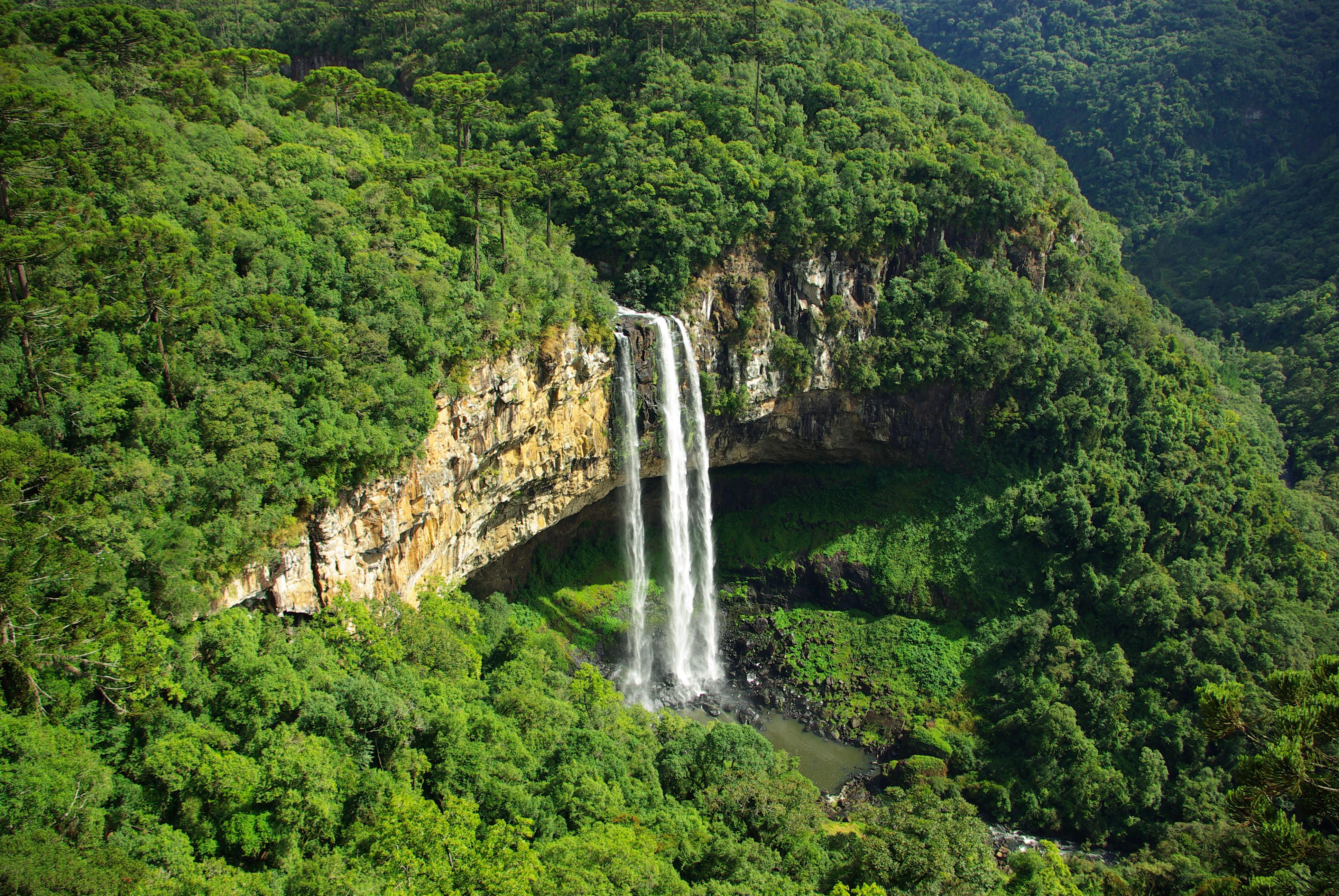 cascata do caracol - canela - rio grande do sul