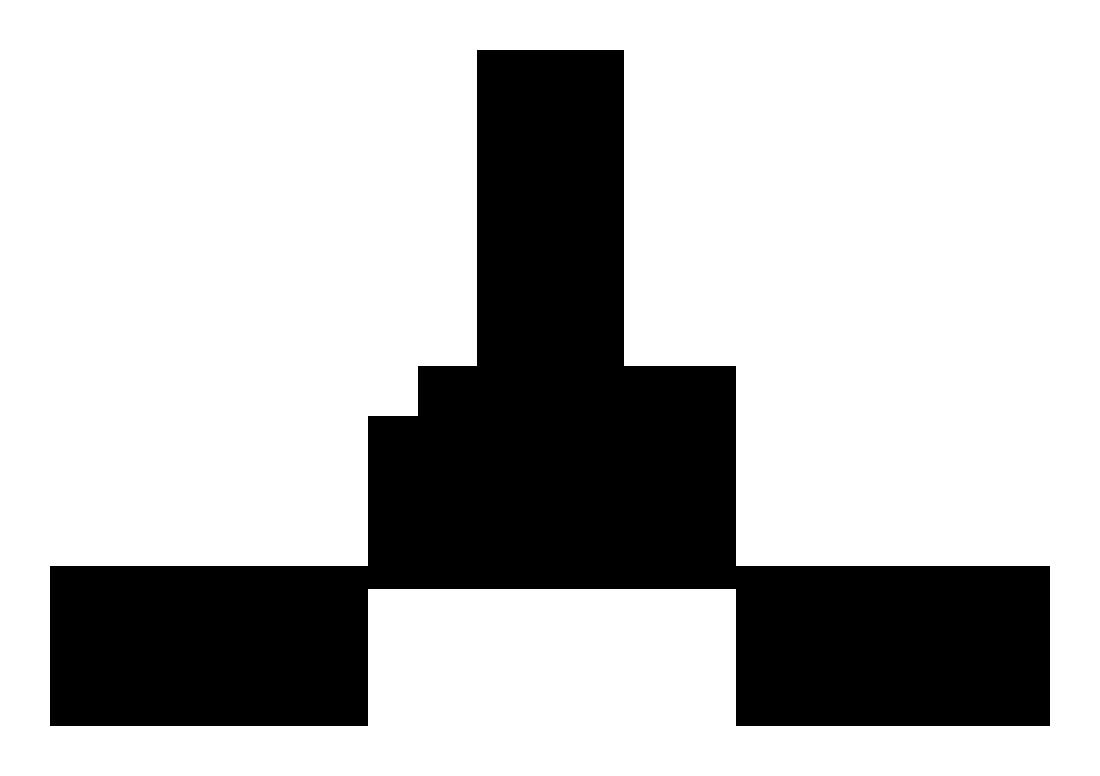 Structuurformule van het carbonaatanion