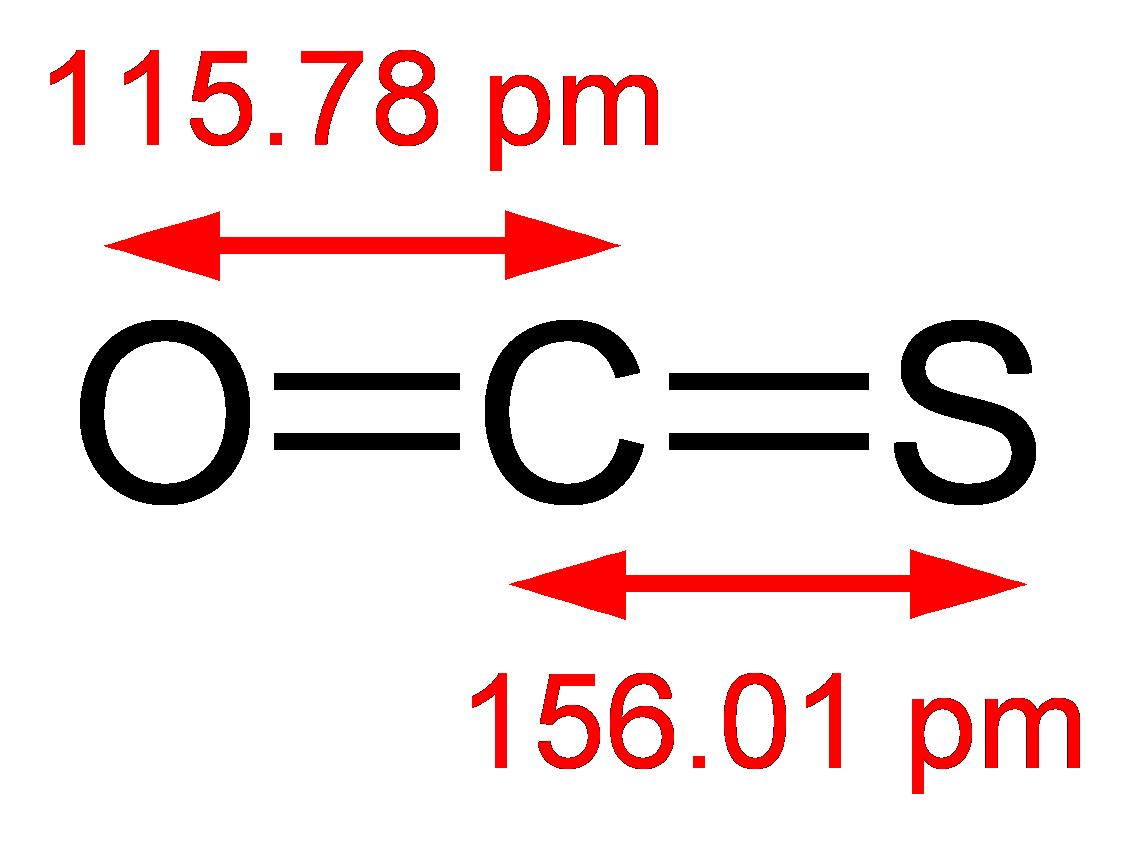 Carbonyl sulfide 2D dimensions carbonyl sulfide wikipedia