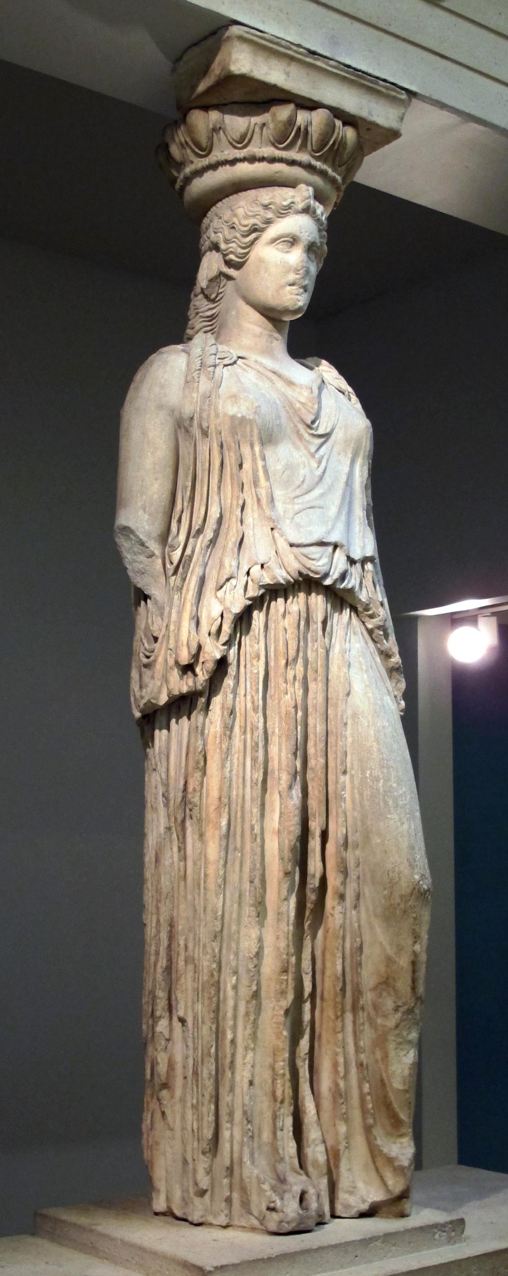 Famous greek women sculptures