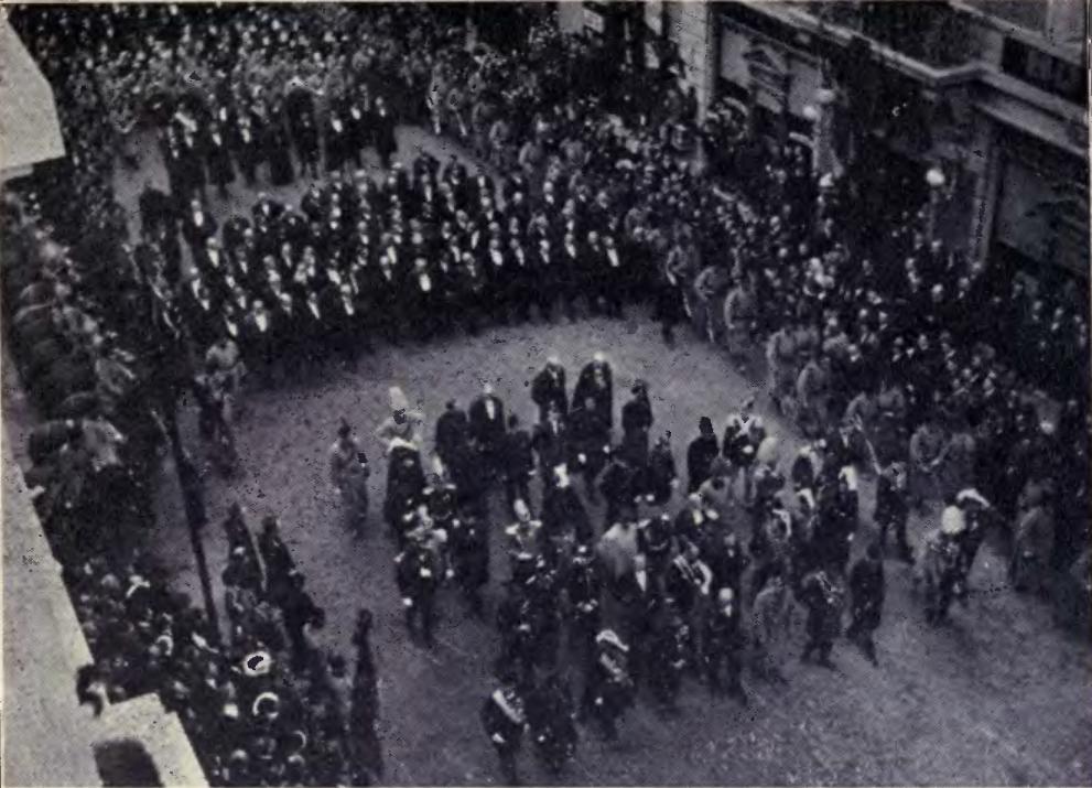 Funerariile regelui Carol I, 1914