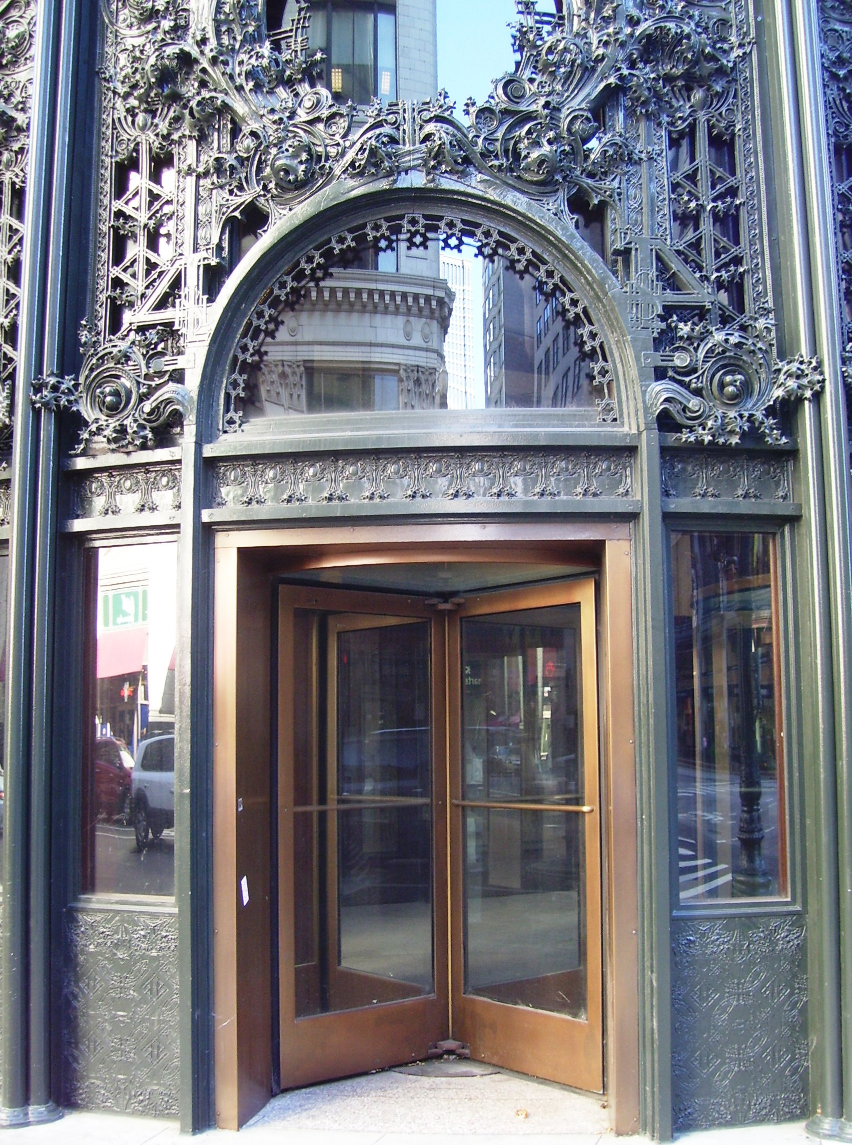 File Carson Pirie Scott And Company Building 1 South State Street Entrance Closeup