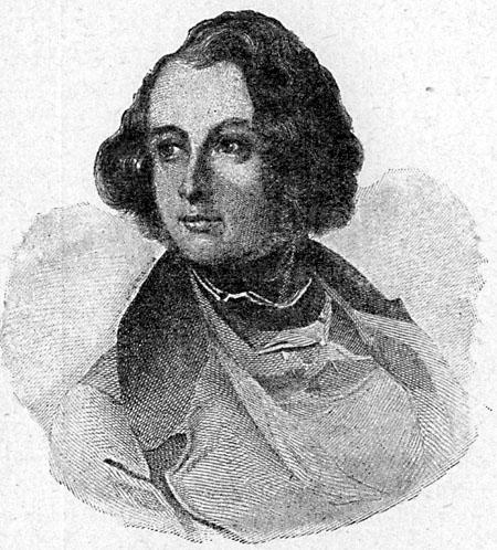 Charles Dickens en su juventud