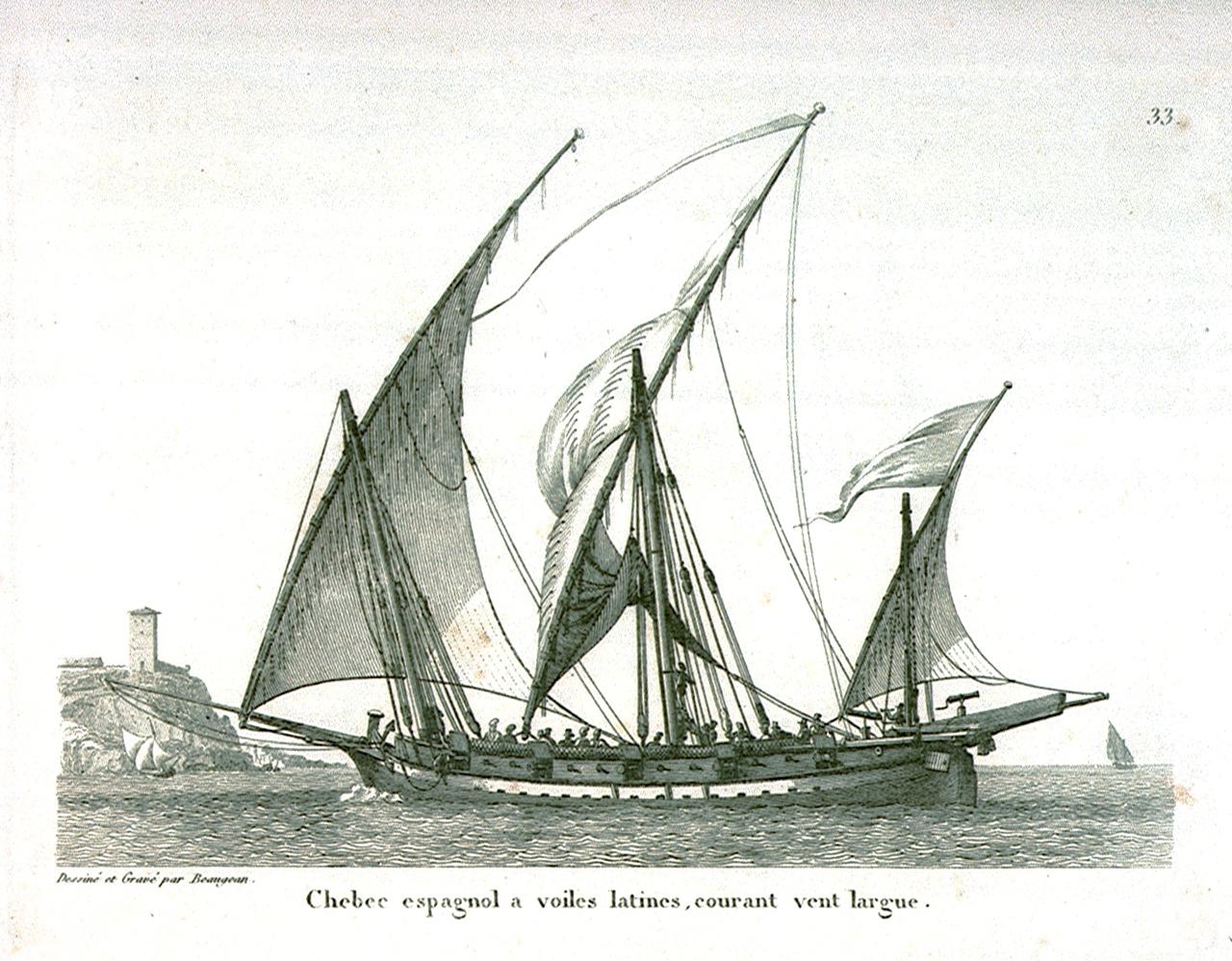 Chébec (Xebec) 1753 - éch 1/60 - Amati Chebec_espagnol_en_1826