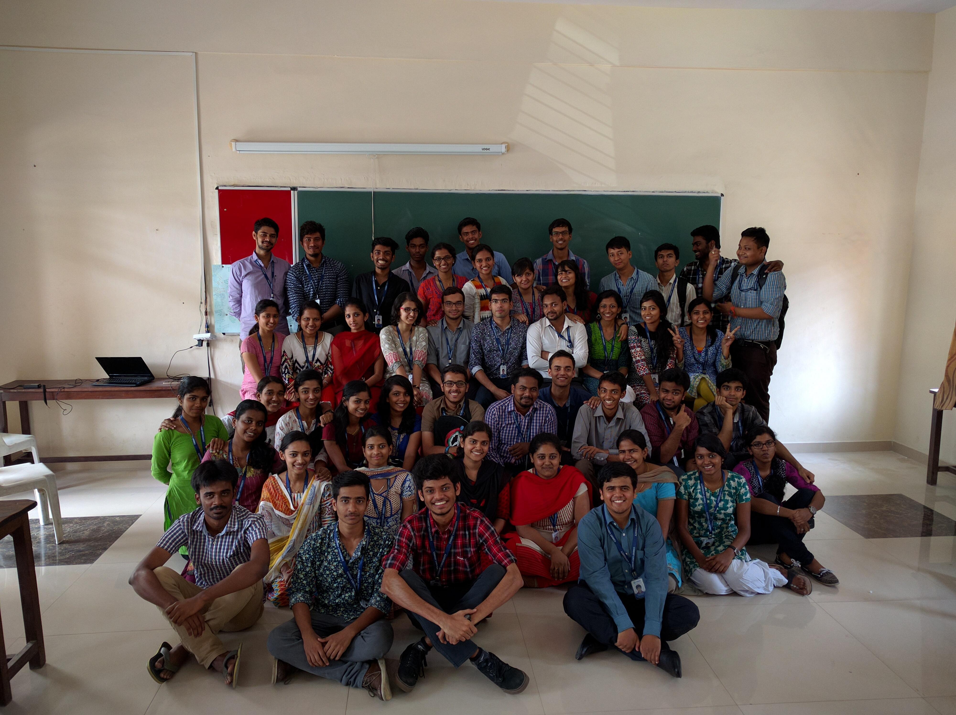 Christ Bsc pcm 2014-17(1).jpg English: Christ university second year students group photo Date 22 March 2016, 12:31:34 Source Own work Author