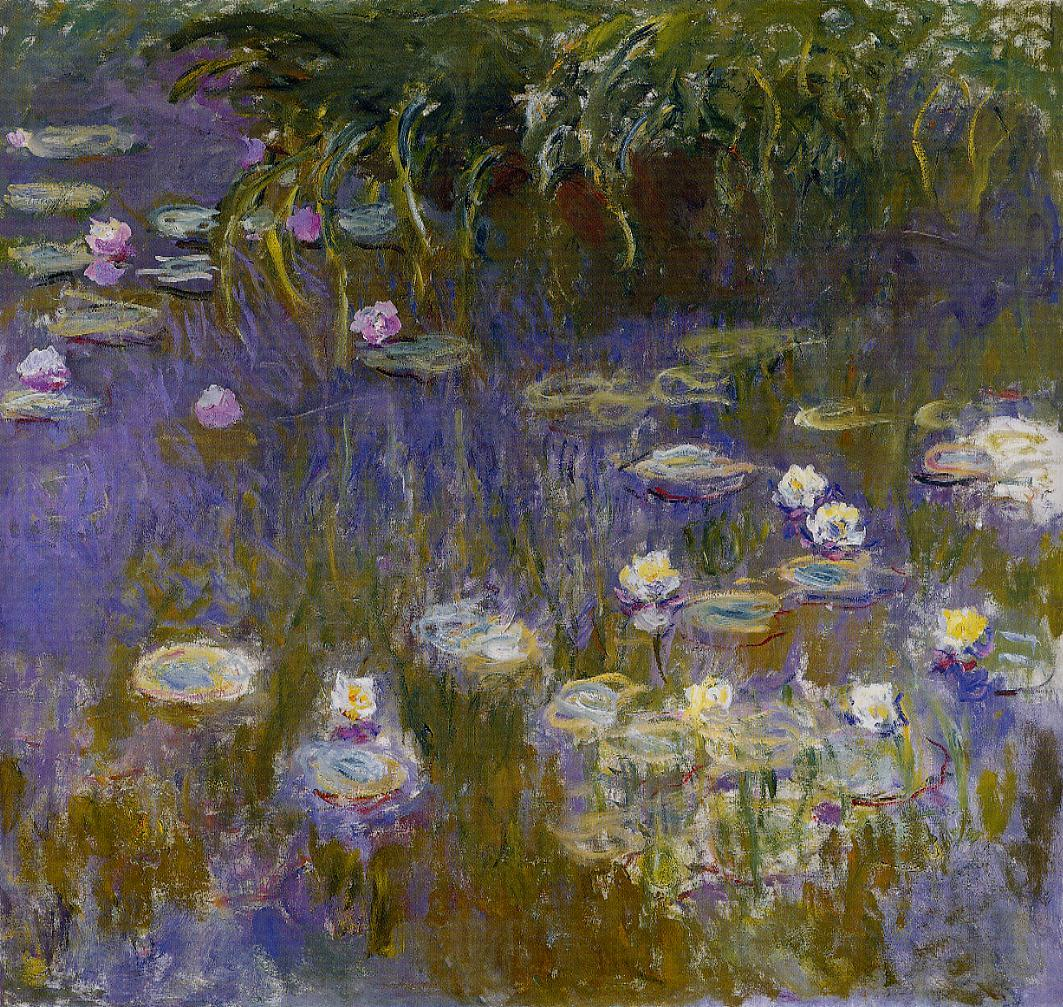 monet s waterlilies Monet's waterlilies, became legendary in the fifties for their connection between sky and water and apparently influenced many american painters it is this .