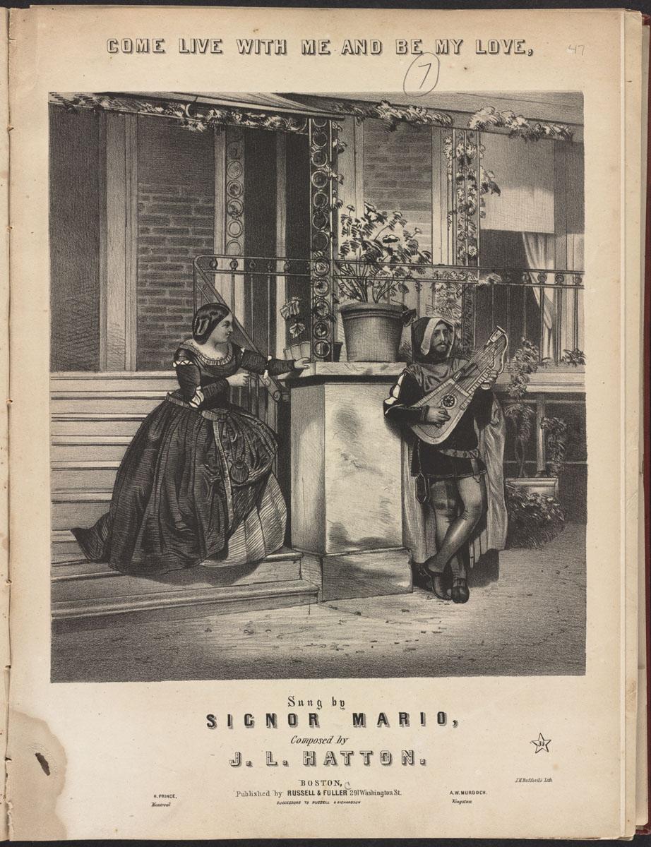 Mariage Boston Public Library