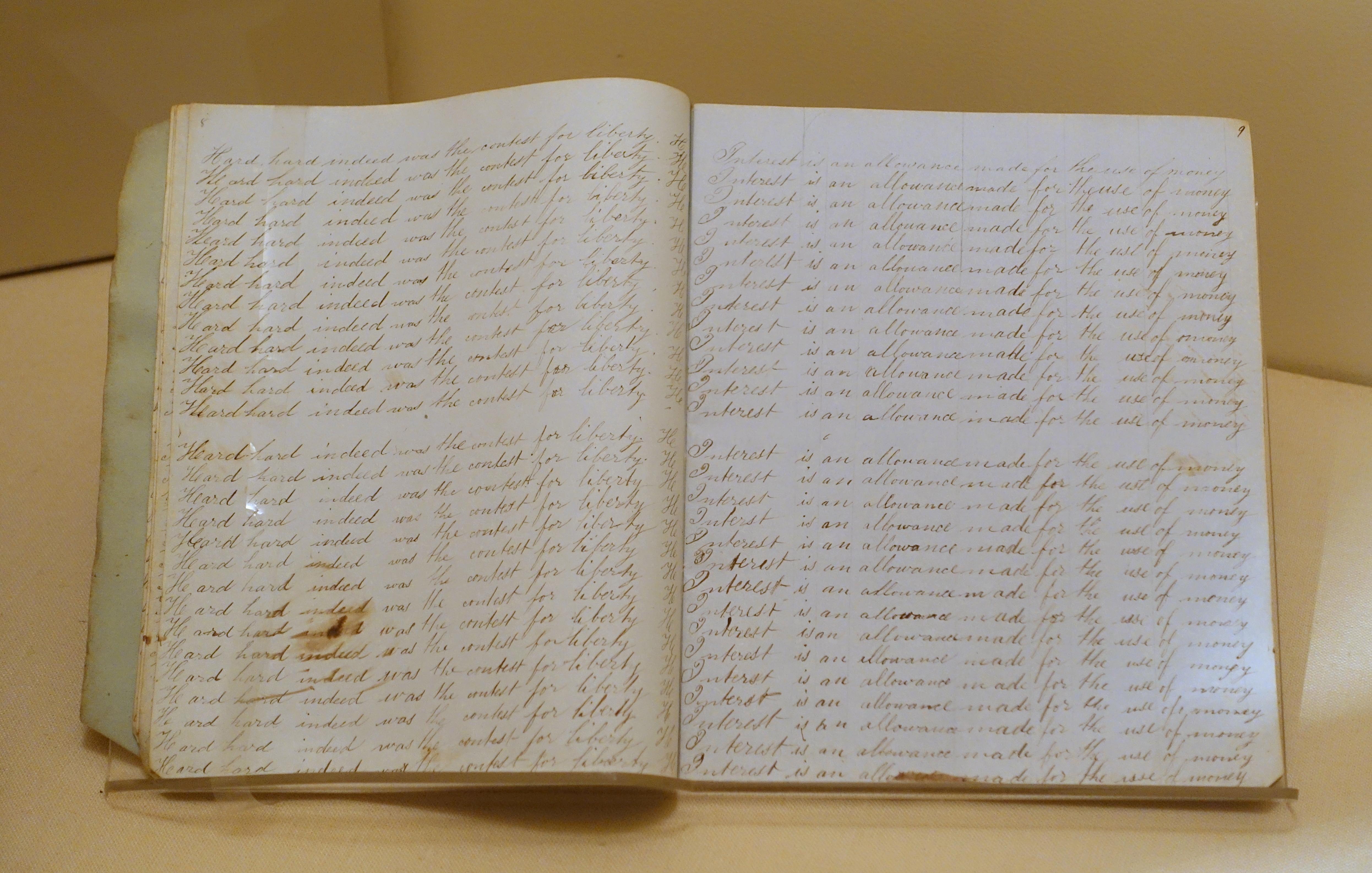 filecopy book boston 18401850 manuscript on paper