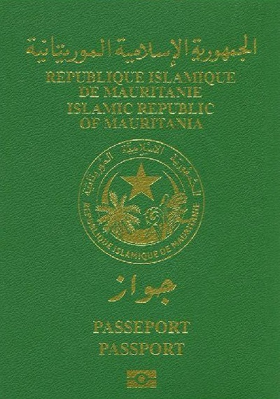 Cover of Mauritanian Biometric Passport.png