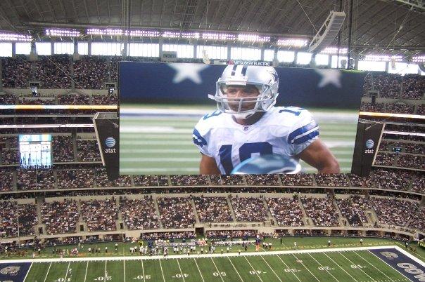 Cowboy's Stadium HD Screen