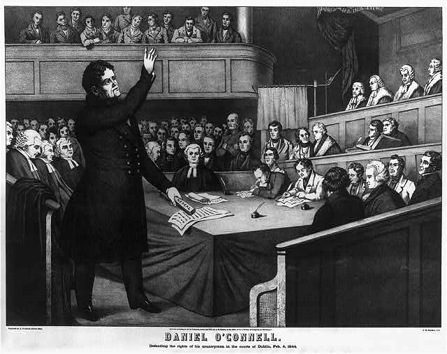 Íomhá:Daniel O'Connell, defending the rights of his countrymen.jpg