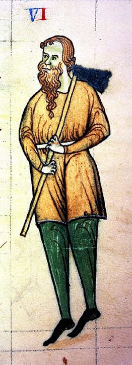 Diarmaid_Mac_Murrough as depicted in the Expugnatio Hibernica, ca. 1189 Diarmaid Mac Murrough Expugnatio Hibernica.jpg