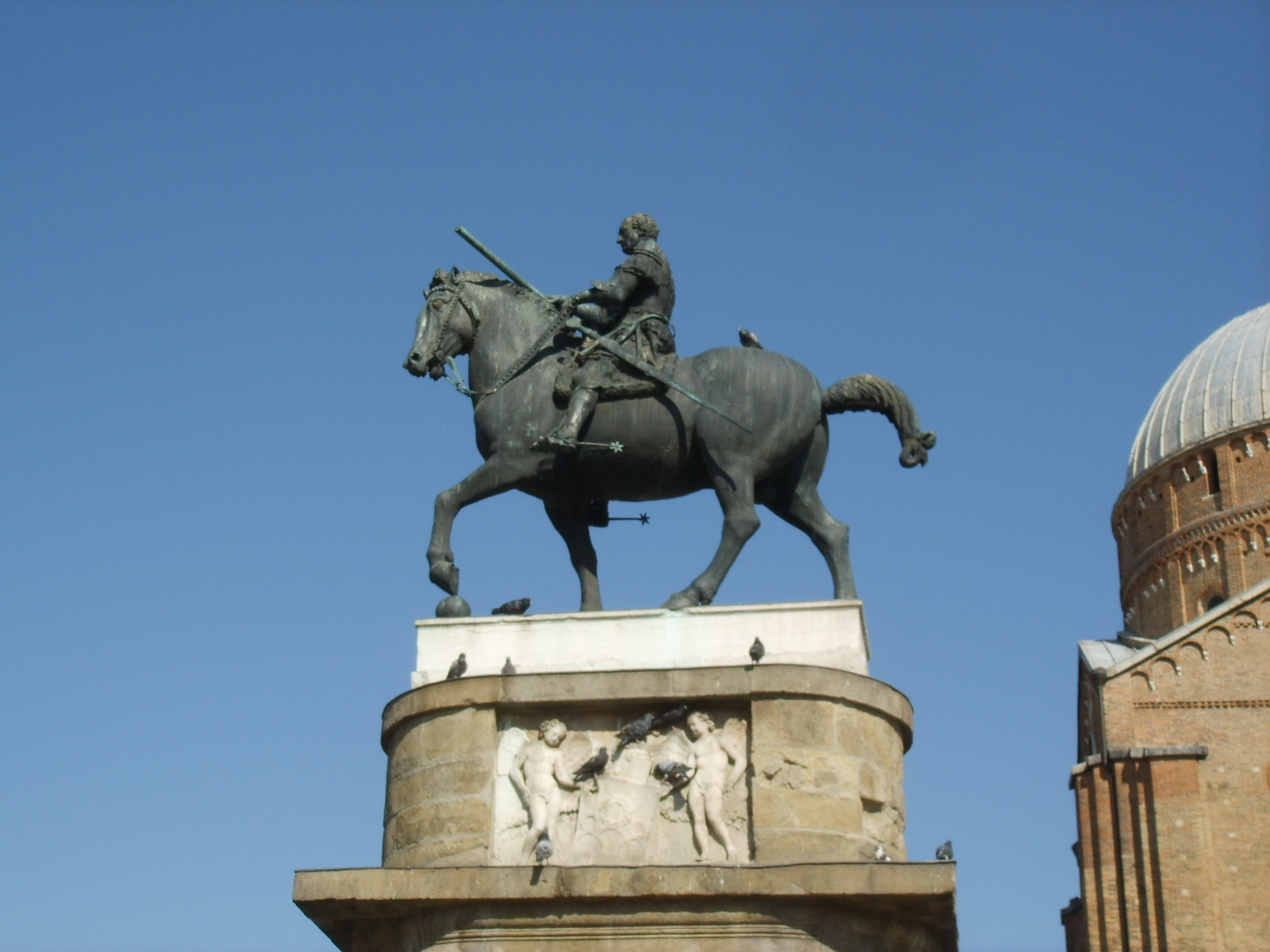 Donatello Equestrian Monument Of Gattamelata