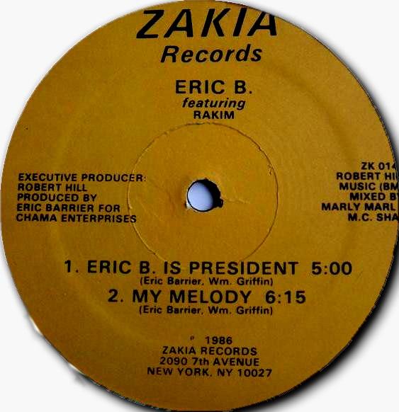 Eric B. Is President