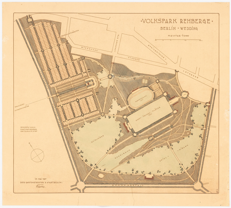 Volkspark Rehberge – Wikipedia
