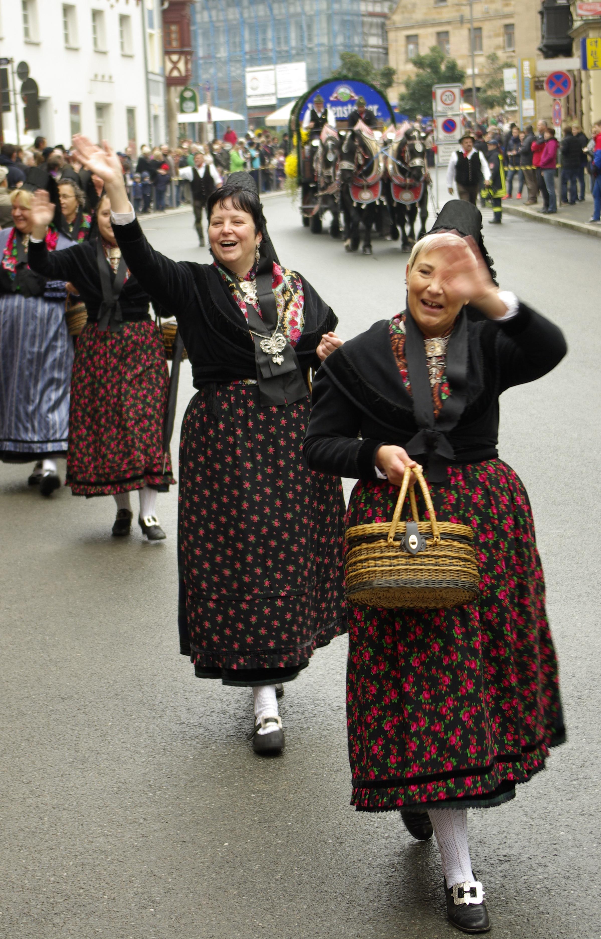 Neundorf Tracht or Folk clothing