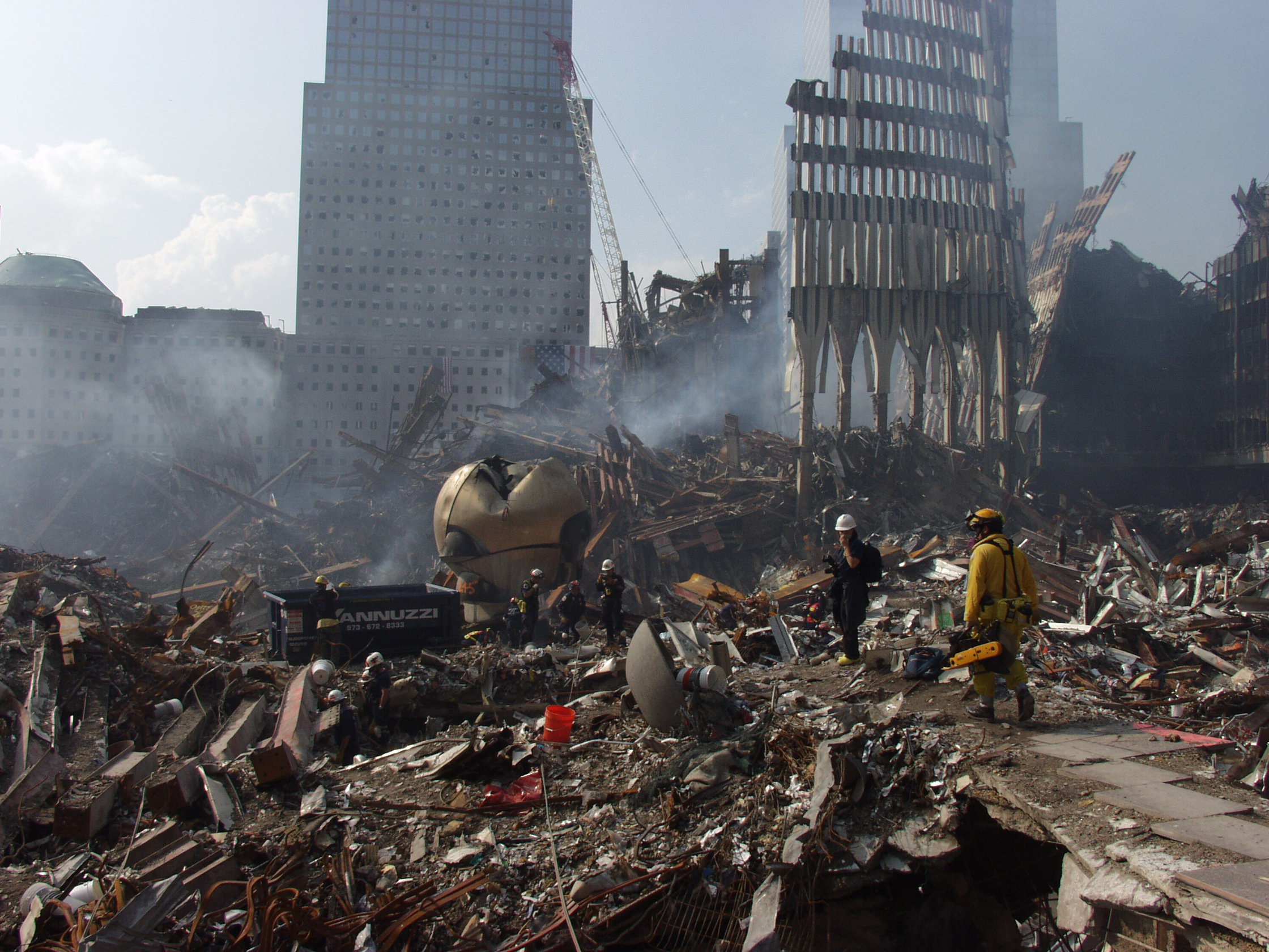 an overview of the situation at the world trade center after september 11th 2001 2001, terrorist attacks on the world trade center in response to your request, we identified and reviewed several key studies of the economic impact of the september 11, 2001, terrorist attacks.