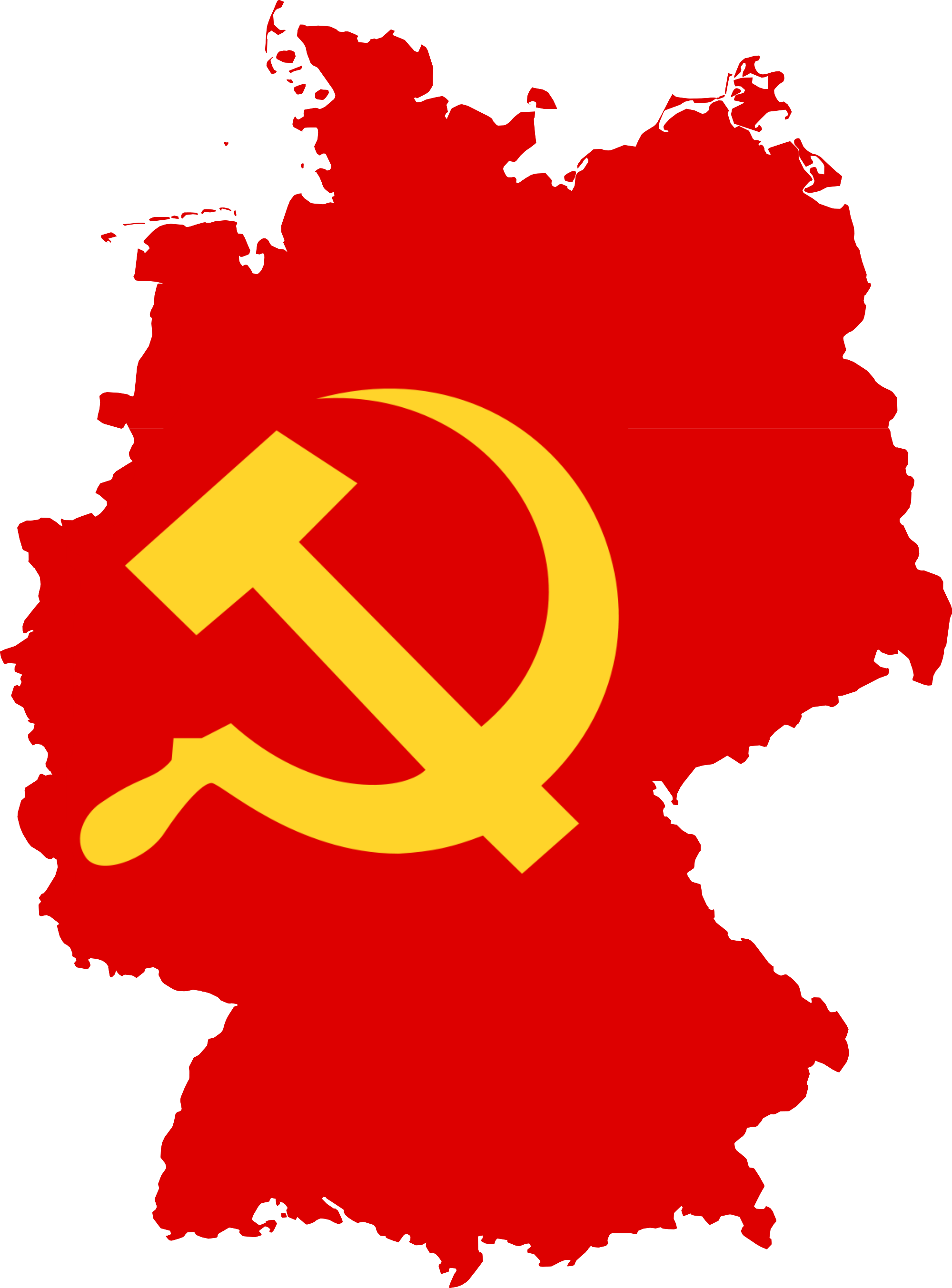File:Flag map of Germany (Communist Party of Germany).png
