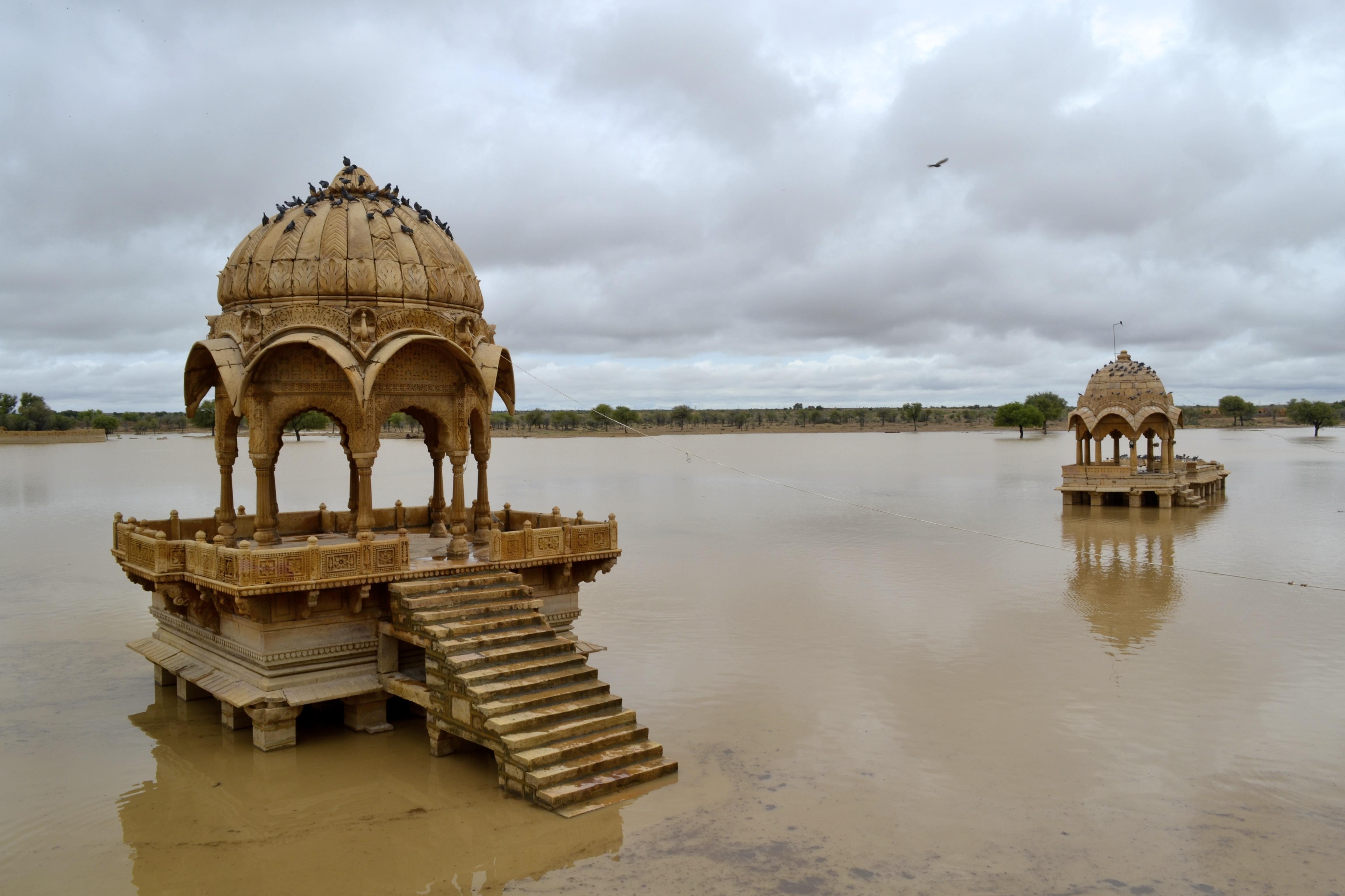 Image result for Gadsisar Lake, Jaisalmer