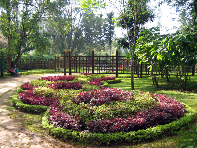 Jard n bot nico nacional de kandawgyi wikipedia la for Caracteristicas de un jardin botanico