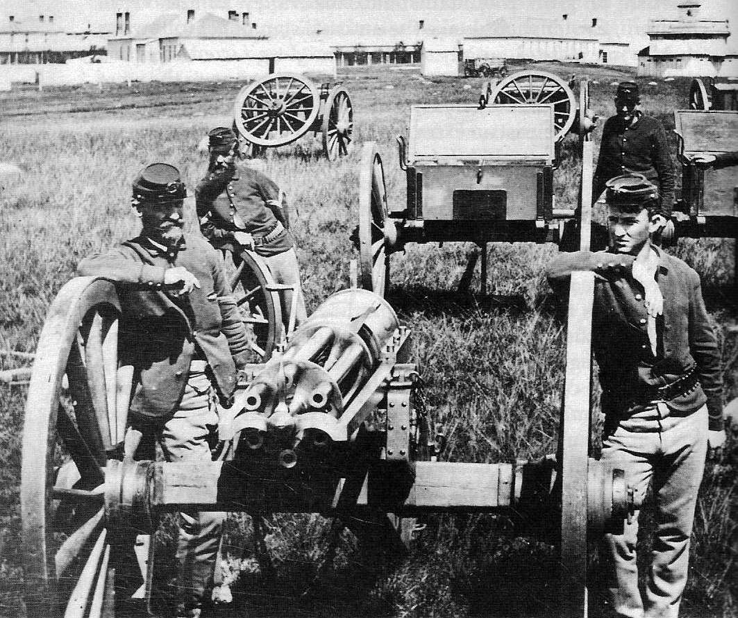 What If?- U S  Army adopted the Gatling Gun five years earlier (1861
