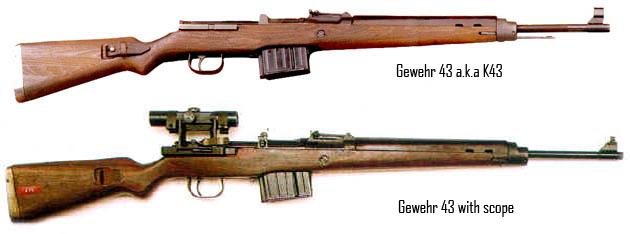 Algunas armas utilizadas en la Segunda Guerra Mundial