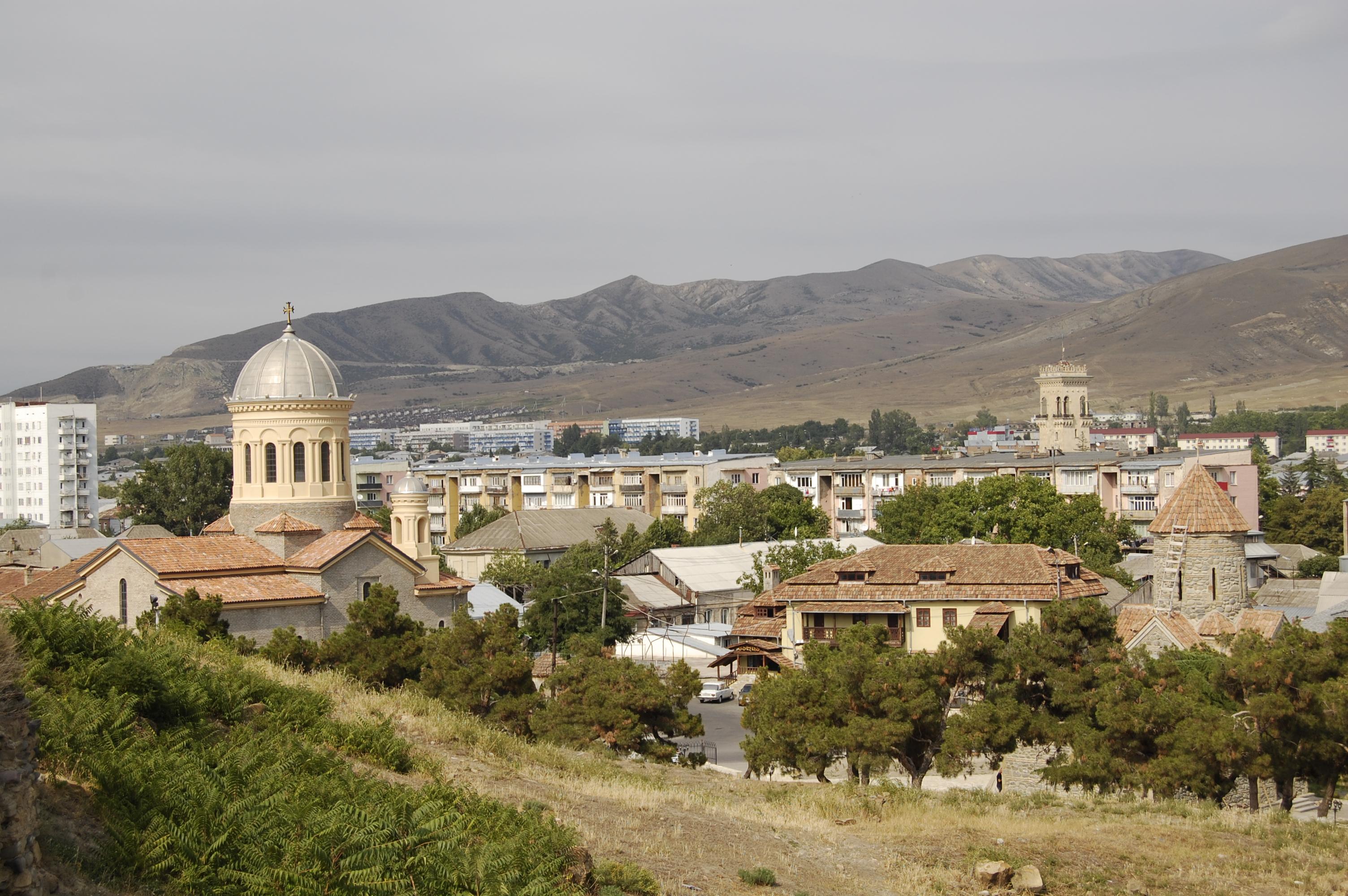 картинка фотография курорта Гори в Грузии