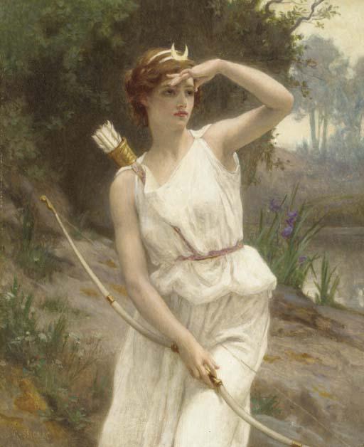 File:Guillaume Seignac - Diana, The Huntress.jpg - 维基百科,自由的百科全书